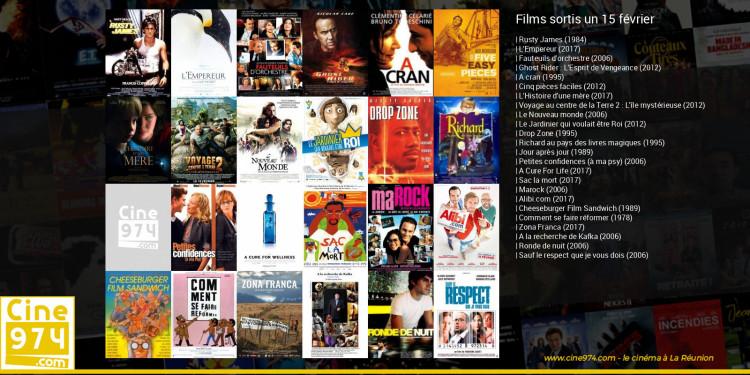 Films sortis un 15 février