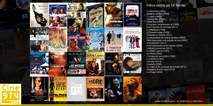 Films sortis un 16 février