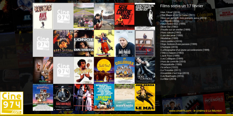 Films sortis un 17 février