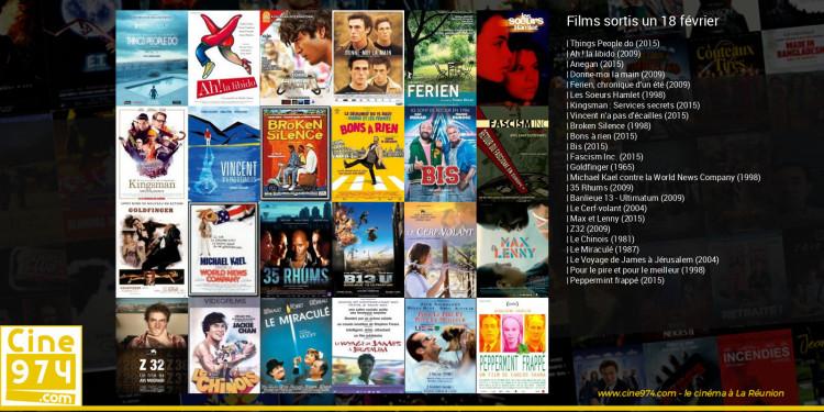 Films sortis un 18 février