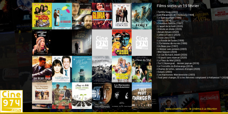 Films sortis un 19 février