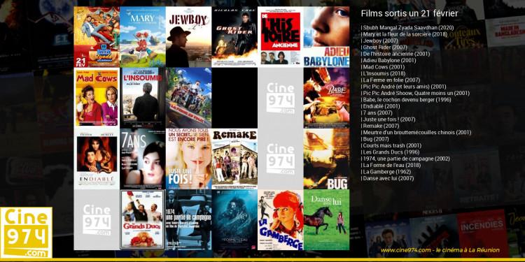 Films sortis un 21 février