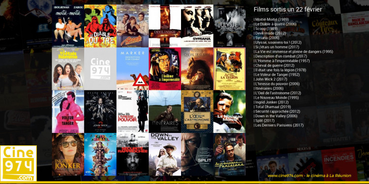 Films sortis un 22 février