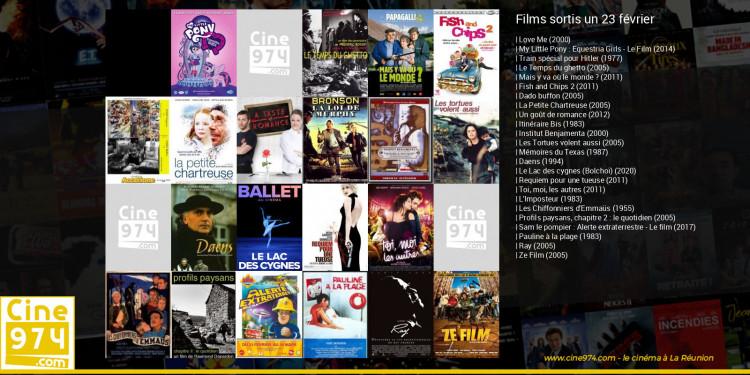 Films sortis un 23 février