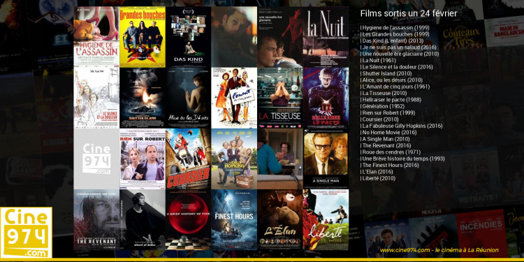 Films sortis un 24 février