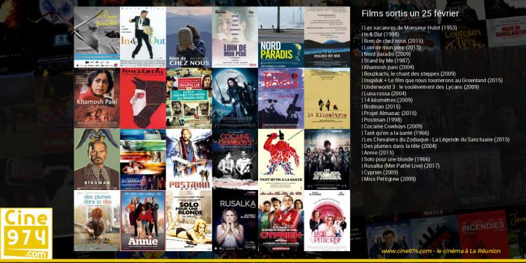 Films sortis un 25 février