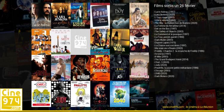 Films sortis un 26 février