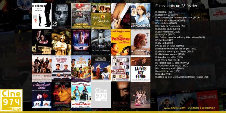 Films sortis un 28 février