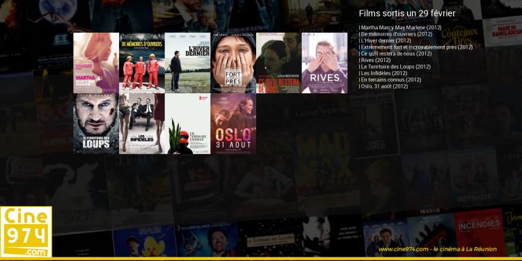 Films sortis un 29 février
