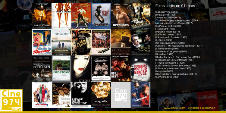 Films sortis un 01 mars