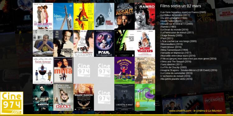 Films sortis un 02 mars