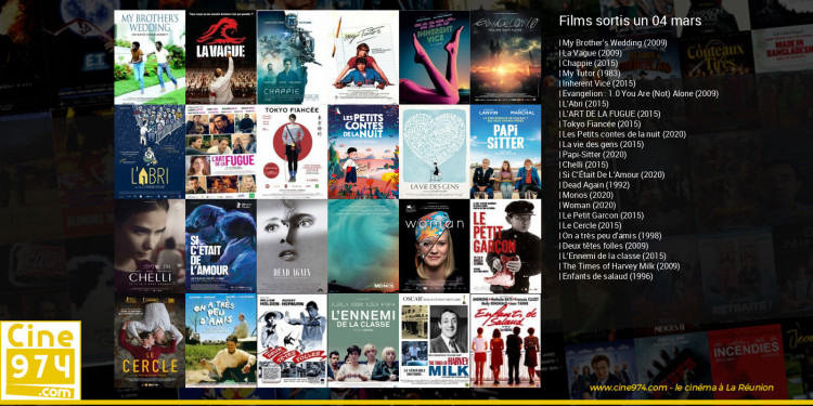 Films sortis un 04 mars