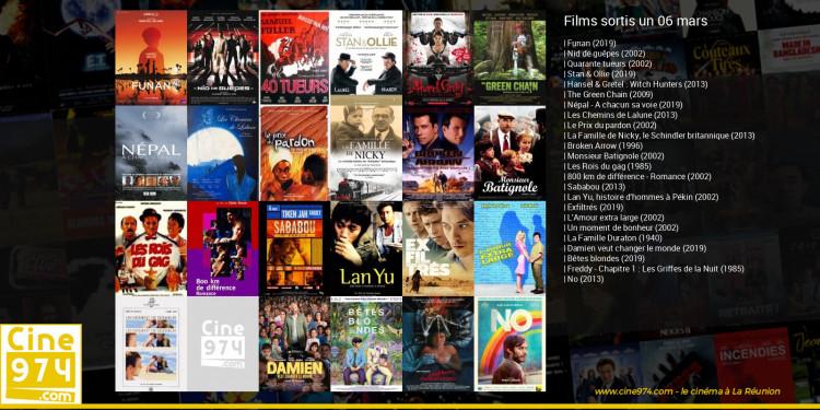 Films sortis un 06 mars