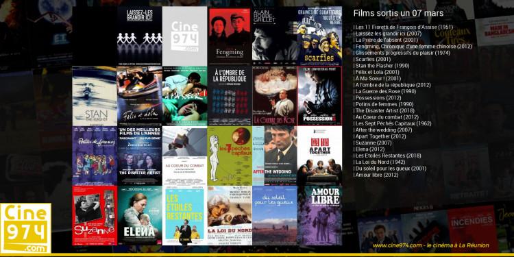 Films sortis un 07 mars