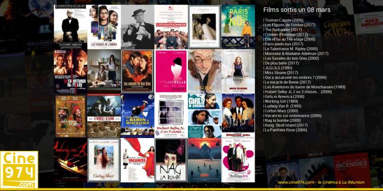 Films sortis un 08 mars