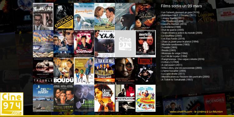 Films sortis un 09 mars