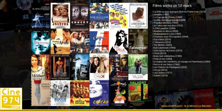 Films sortis un 10 mars