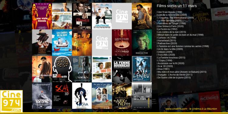 Films sortis un 11 mars