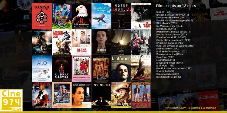 Films sortis un 13 mars
