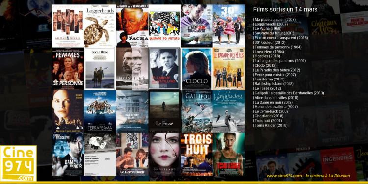 Films sortis un 14 mars