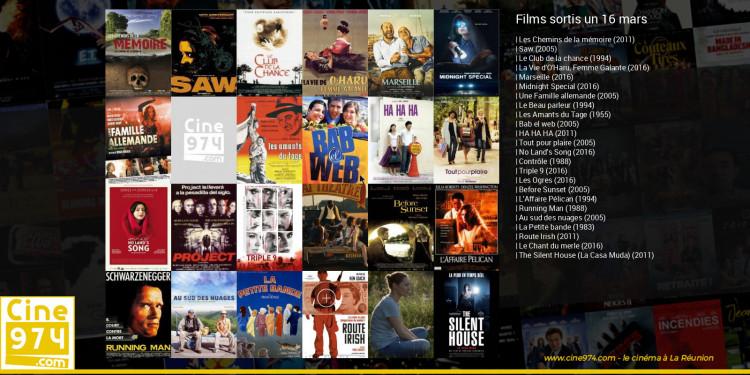 Films sortis un 16 mars