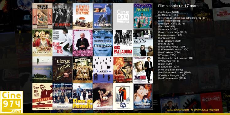 Films sortis un 17 mars