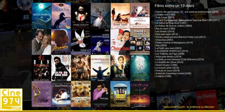 Films sortis un 19 mars