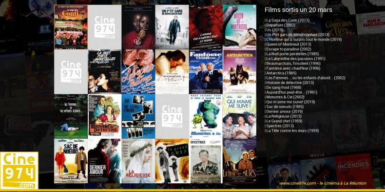 Films sortis un 20 mars