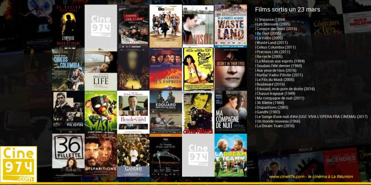 Films sortis un 23 mars
