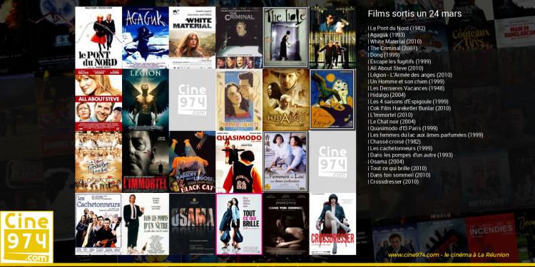 Films sortis un 24 mars