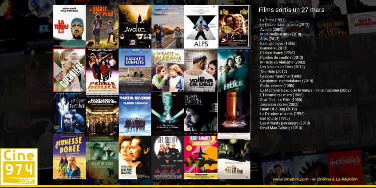 Films sortis un 27 mars
