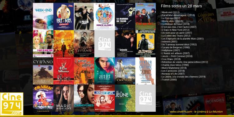 Films sortis un 28 mars