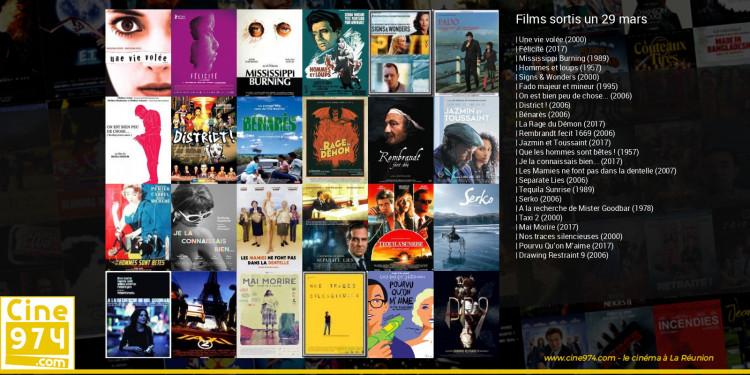 Films sortis un 29 mars