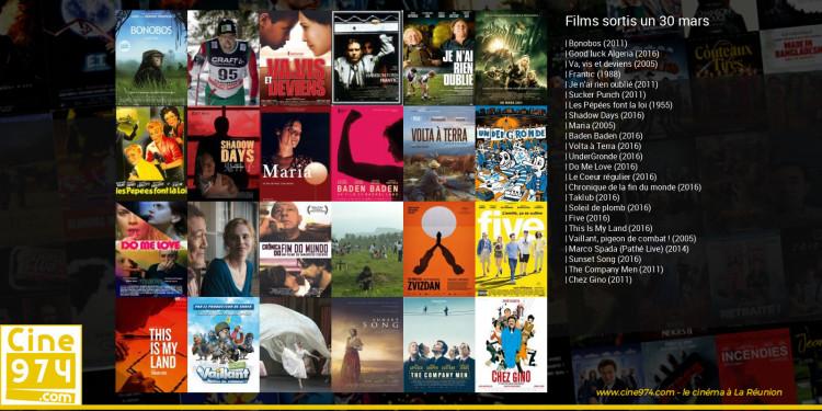 Films sortis un 30 mars