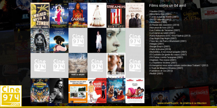 Films sortis un 04 avril