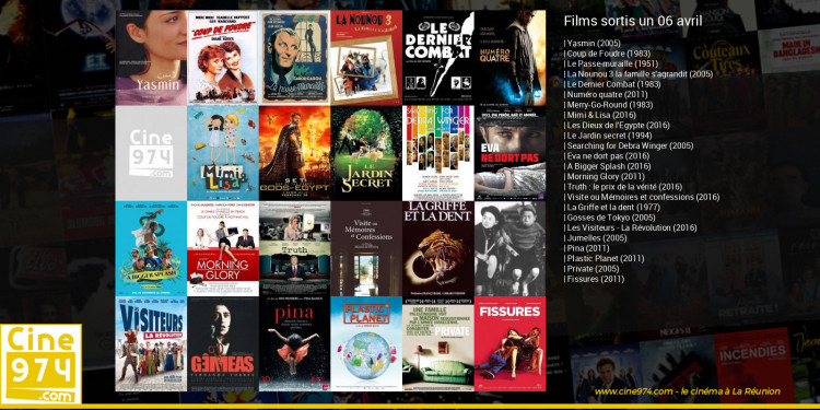Films sortis un 06 avril