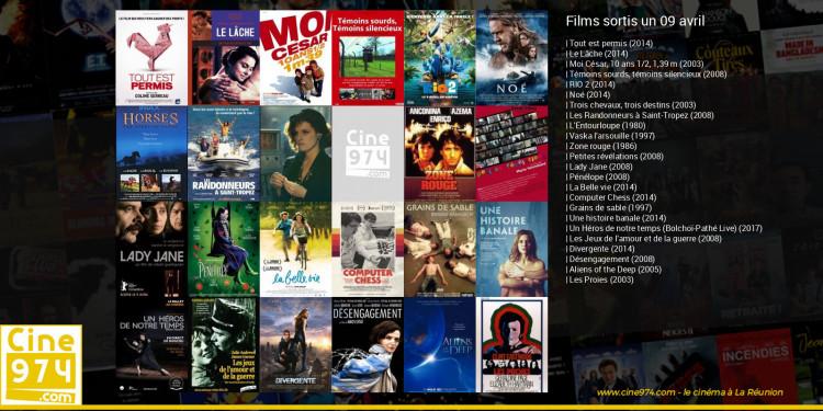 Films sortis un 09 avril