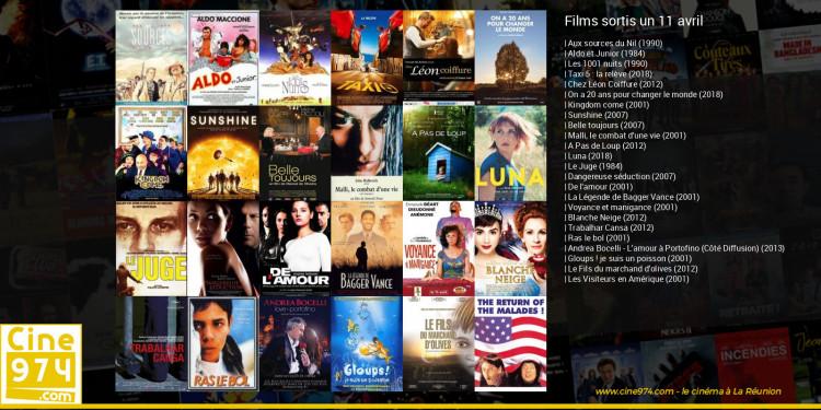 Films sortis un 11 avril