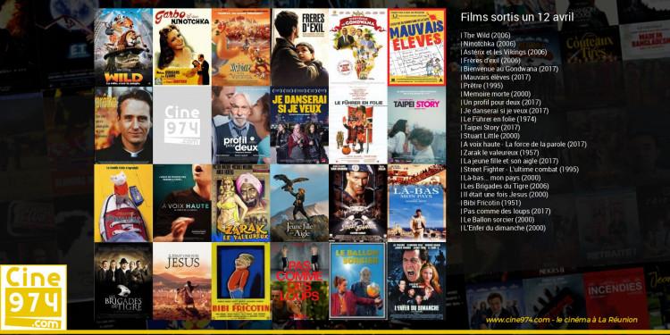 Films sortis un 12 avril