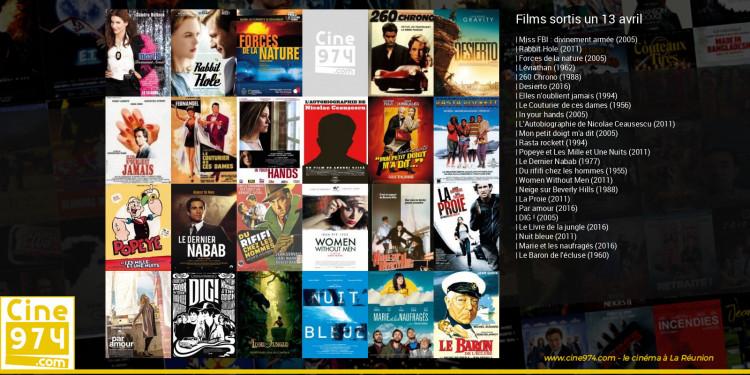 Films sortis un 13 avril