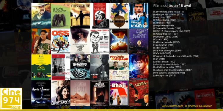 Films sortis un 15 avril