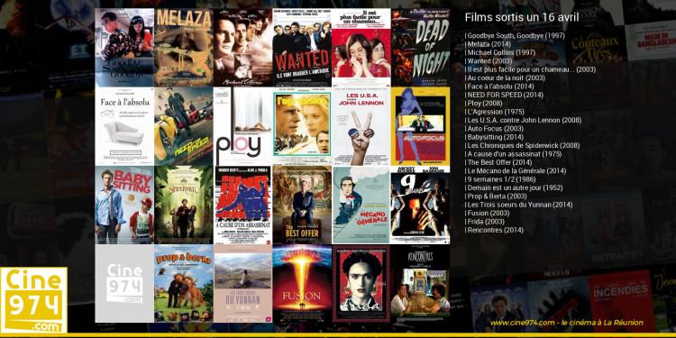 Films sortis un 16 avril