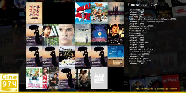 Films sortis un 17 avril