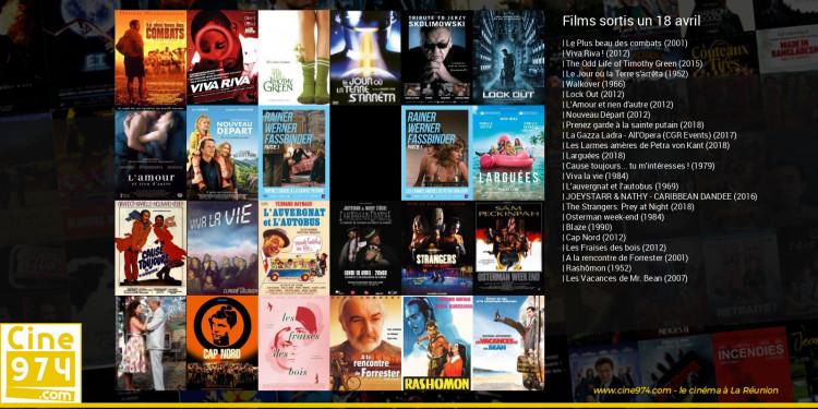 Films sortis un 18 avril