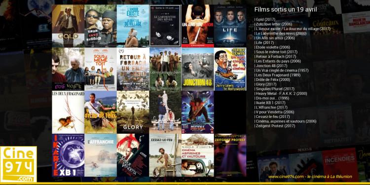 Films sortis un 19 avril