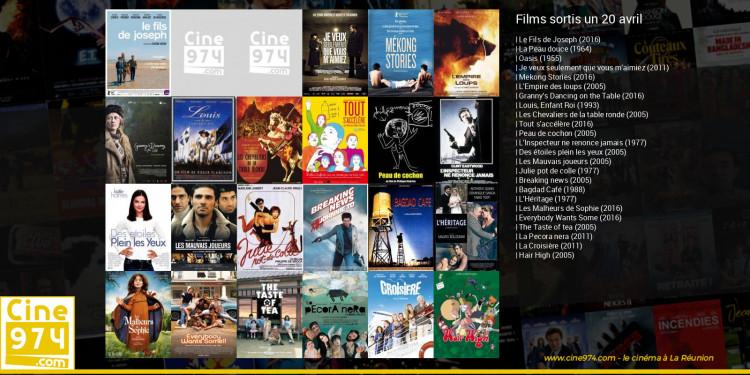 Films sortis un 20 avril
