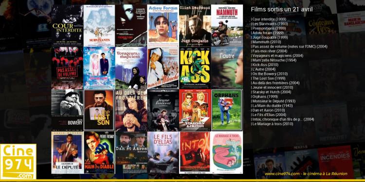 Films sortis un 21 avril