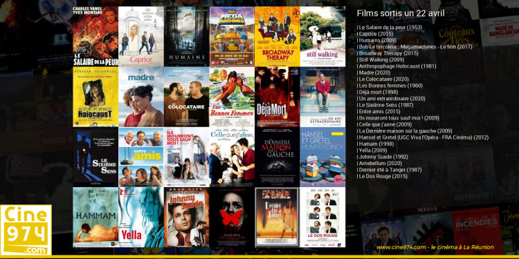 Films sortis un 22 avril