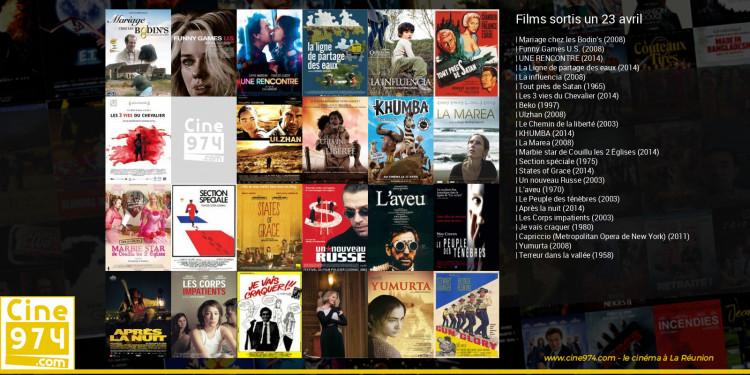 Films sortis un 23 avril