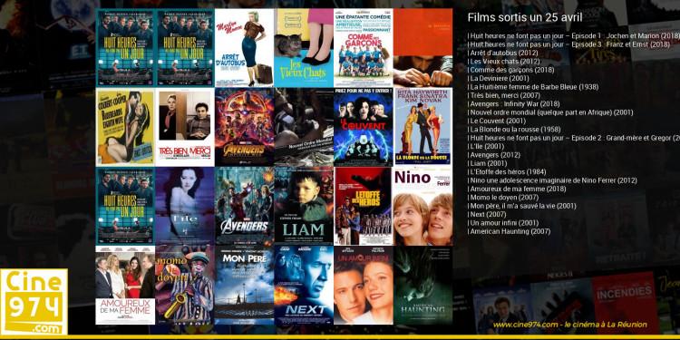 Films sortis un 25 avril
